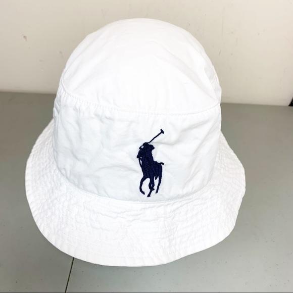 "9cdab1776df Ralph Lauren Polo Bucket Hat ""Big Horse Logo"". M 5c396f6c04e33d8f5e0ac7f2"